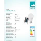 EGLO 10107 | E27 Eglo
