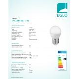 EGLO 10762 | E27 Eglo