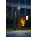 LUTEC 7225201118   Anda Lutec álló lámpa 80cm 1x LED 1040lm 4000K IP65 antracit szürke