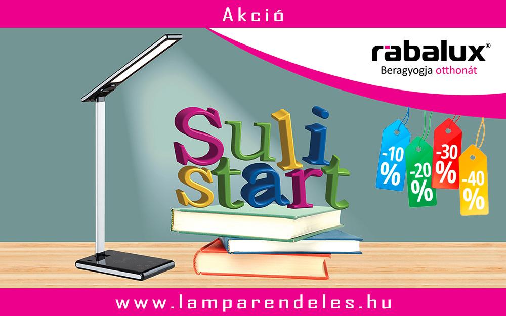 Rábalux - Akciós asztali lámpák