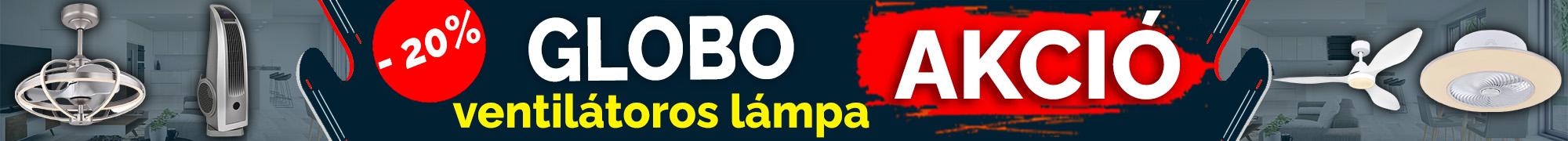 GLOBO akciós lámpák!