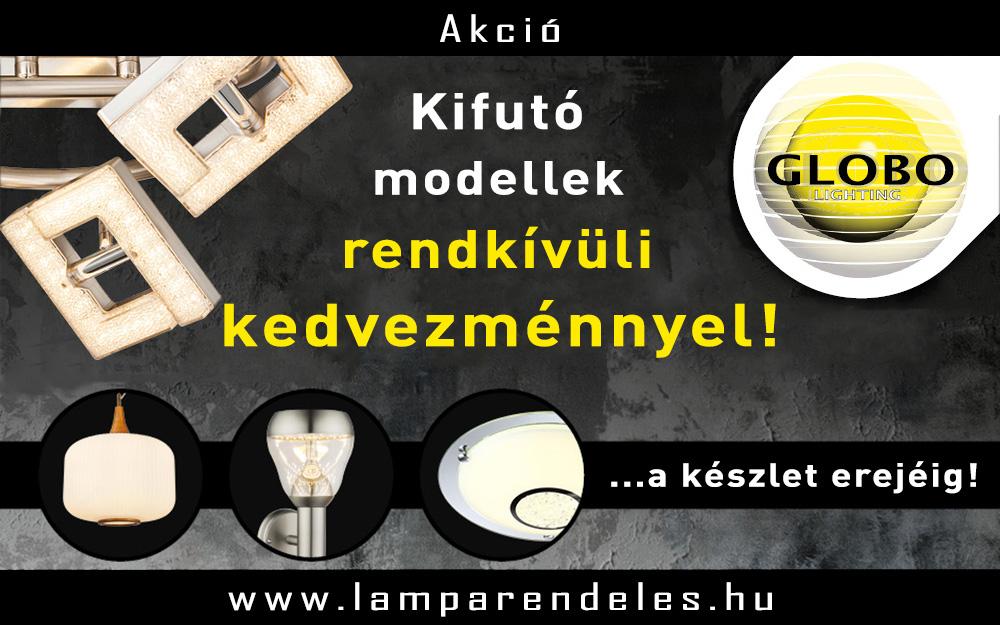 GLOBO akció! - Akciós lámpák