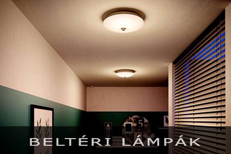 Betéri lámpák