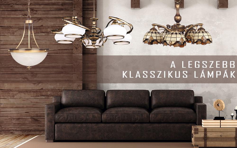 A legszebb klasszikus lámpák!