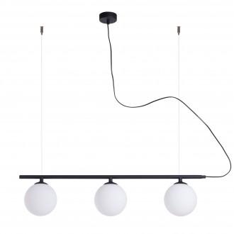 ALDEX 1006E/1 | Beryl Aldex függeszték lámpa 3x E14 fekete, fehér