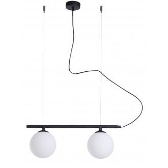 ALDEX 1006H1 | Beryl Aldex függeszték lámpa 2x E14 fekete, fehér