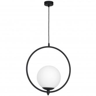 ALDEX 1011G1 | Luna-AL Aldex függeszték lámpa 1x E27 fekete, fehér