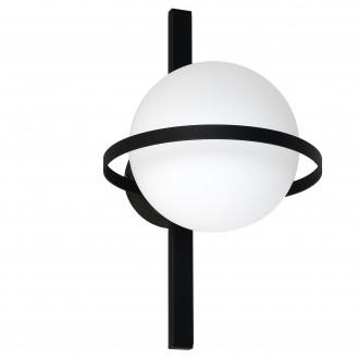 ALDEX 1014C | Drops-AL Aldex fali, mennyezeti lámpa 1x E14 fekete, fehér
