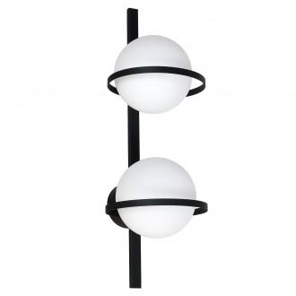 ALDEX 1014D | Drops-AL Aldex fali, mennyezeti lámpa 2x E14 fekete, fehér