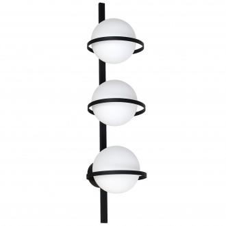 ALDEX 1014Y | Drops-AL Aldex fali, mennyezeti lámpa 3x E14 fekete, fehér