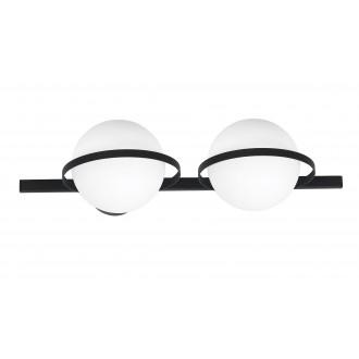 ALDEX 1015D | Drops-AL Aldex fali, mennyezeti lámpa 2x E14 fekete, fehér