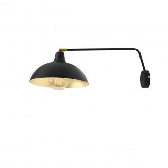 ALDEX 1036C1 | Espace Aldex falikar lámpa elforgatható alkatrészek 1x E27 fekete, fehér, arany