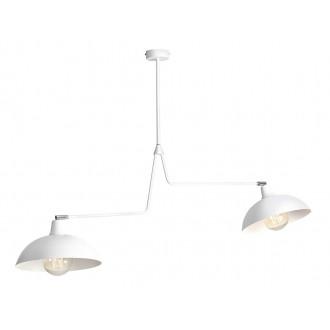 ALDEX 1036H | Espace Aldex függeszték lámpa elforgatható alkatrészek 2x E27 fehér, króm