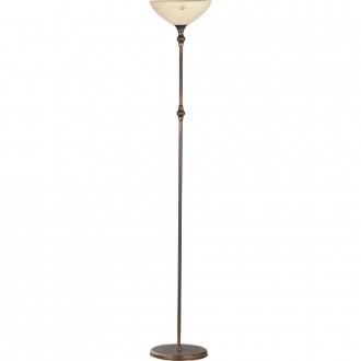 ALDEX 377A | HitA Aldex álló lámpa 170cm kapcsoló 1x E27 antik vörösréz, krémszín