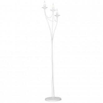 ALDEX 397A   Roza Aldex álló lámpa 164cm taposókapcsoló 3x E14 fehér