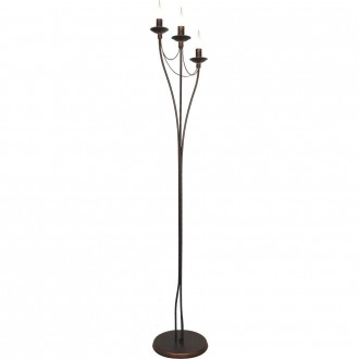 ALDEX 397A16 | Roza_I Aldex álló lámpa 164cm taposókapcsoló 3x E14 bronz