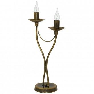 ALDEX 397B26/M | Roza_I Aldex asztali lámpa 47cm vezeték kapcsoló 2x E14 antikolt réz