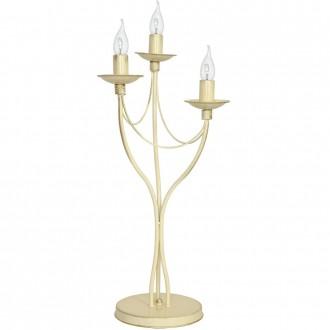 ALDEX 397B9/D   Roza Aldex asztali lámpa 63cm vezeték kapcsoló 3x E14 krémszín