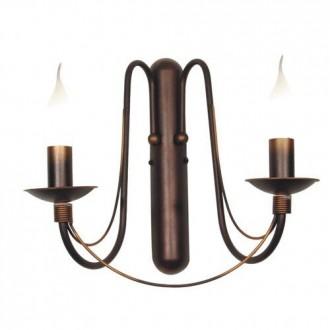 ALDEX 397D16 | Roza_I Aldex fali lámpa 2x E14 bronz