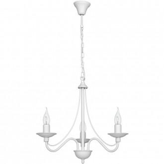 ALDEX 397E   Roza Aldex csillár lámpa 3x E14 fehér