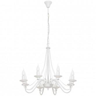 ALDEX 397P   Roza Aldex csillár lámpa 8x E14 fehér