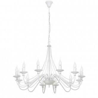 ALDEX 397R   Roza Aldex csillár lámpa 12x E14 fehér
