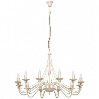 ALDEX 397R9   Roza Aldex csillár lámpa 12x E14 krémszín
