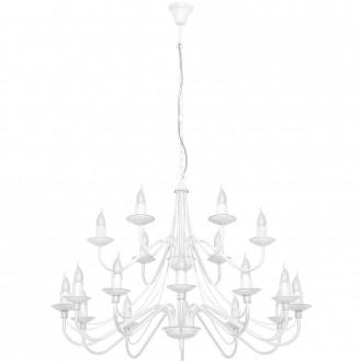 ALDEX 397S   Roza Aldex csillár lámpa 18x E14 fehér