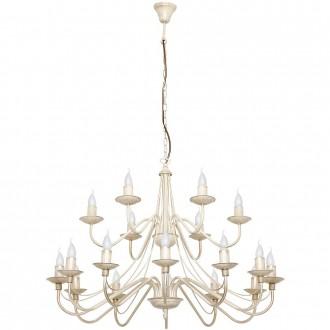 ALDEX 397S9   Roza Aldex csillár lámpa 18x E14 krémszín