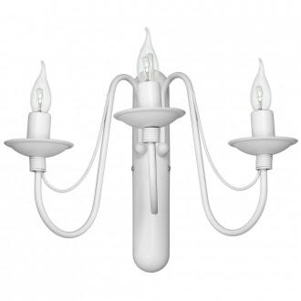 ALDEX 397Y   Roza Aldex falikar lámpa 3x E14 fehér