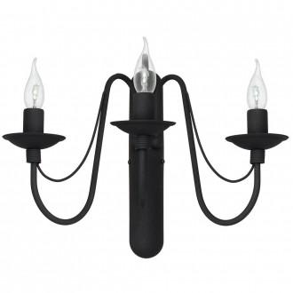 ALDEX 397Y1   Roza Aldex falikar lámpa 3x E14 fekete