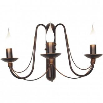 ALDEX 397Y16 | Roza_I Aldex fali lámpa 3x E14 bronz