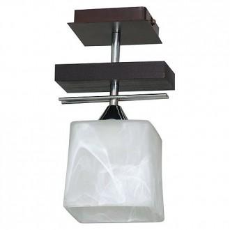 ALDEX 527G | FabioA Aldex mennyezeti lámpa 1x E27 fekete, króm, fehér