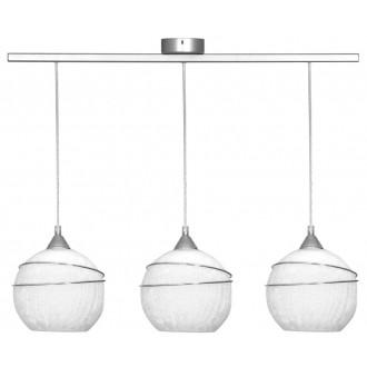 ALDEX 546E | SyriuszA Aldex függeszték lámpa 3x E27 matt nikkel, fehér