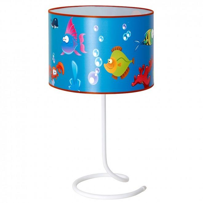 ALDEX 657B10 | Akwarium Aldex asztali lámpa kapcsoló 1x E14 kék, többszínű
