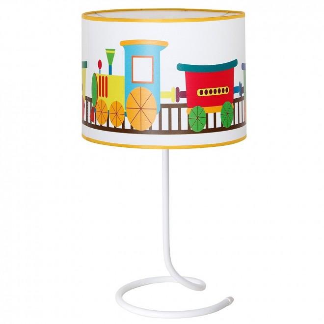 ALDEX 657B11 | Lokomoto_I Aldex asztali lámpa kapcsoló 1x E14 fehér, többszínű