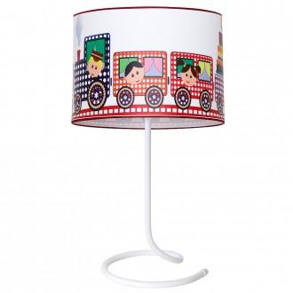 ALDEX 657B15 | Lokomoto_II Aldex asztali lámpa kapcsoló 1x E14 fehér, többszínű