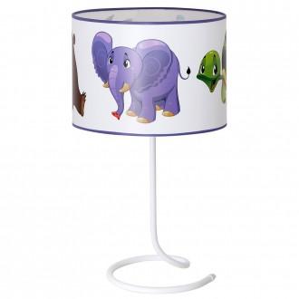 ALDEX 657B17 | Zolwiem Aldex asztali lámpa kapcsoló 1x E14 fehér, többszínű
