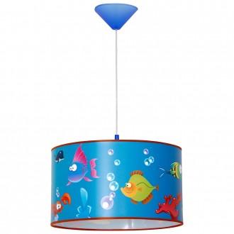 ALDEX 657G10 | Akwarium Aldex függeszték lámpa 1x E27 kék, többszínű