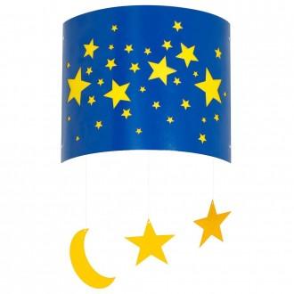 ALDEX 710C/11 | Gwiazdy Aldex fali lámpa 1x E14 kék, sárga