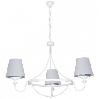 ALDEX 799E | Vidro Aldex csillár lámpa 3x E14 fehér