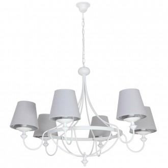 ALDEX 799K | Vidro Aldex csillár lámpa 6x E14 fehér