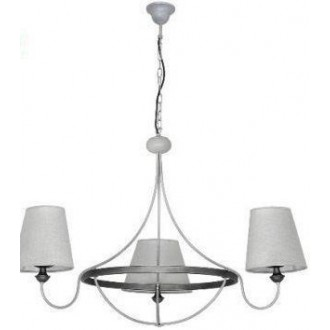 ALDEX 800E/21 | Barras Aldex csillár lámpa 3x E14 szürke