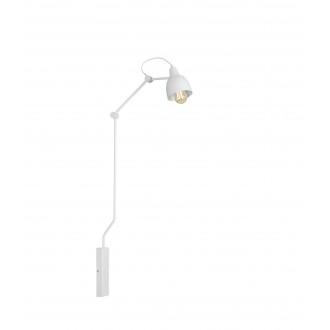 ALDEX 814C | Aida-Bibi Aldex falikar lámpa elforgatható alkatrészek 1x E27 fehér