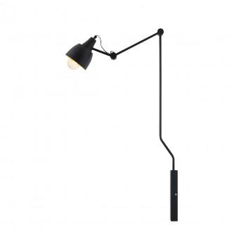 ALDEX 843C | Aida-Bibi Aldex falikar lámpa elforgatható alkatrészek 1x E27 fekete, arany