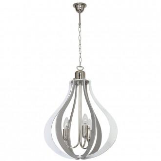 ALDEX 877E/22   Jura Aldex függeszték lámpa 3x E14 szürke, króm