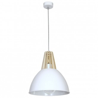 ALDEX 898G | Fasan-Fumus-Zorro Aldex függeszték lámpa 1x E27 fehér, fa.