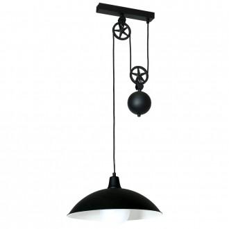 ALDEX 901G1 | Danton-I Aldex függeszték lámpa ellensúlyos, állítható magasság 1x E27 fekete, fehér