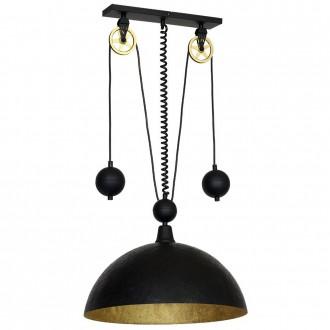 ALDEX 901G3 | Danton-I Aldex függeszték lámpa ellensúlyos, állítható magasság 1x E27 fekete