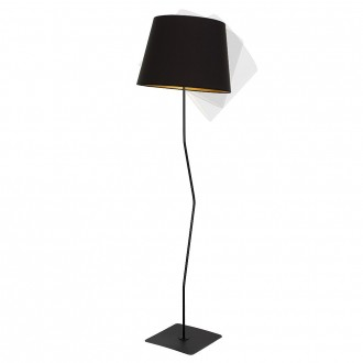 ALDEX 920A1 | Marylin Aldex álló lámpa 163cm kapcsoló 1x E27 fekete, arany